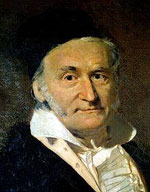 Figure 1 : Portrait de Gauss (1777-1855) en 1840.