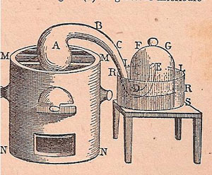 Figure 27 : Illustration de Lamirand et al., 1947.
