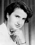 Figure 6 : Rosalind Franklin (1920-1958), biophysicienne britannique.